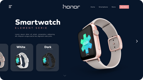 Landing Page Smartwatches Image